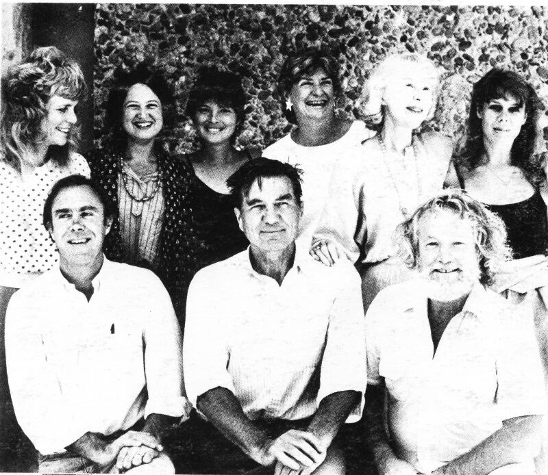 Napa Valley Writers' Conference faculty and staff, 1983